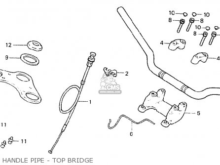 Honda Cb250n 1978 England parts list partsmanual partsfiche