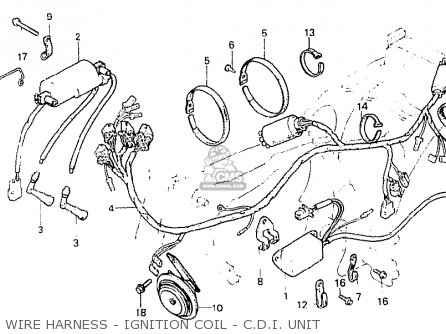 Honda Cb250n 1978 England parts list partsmanual partsfiche
