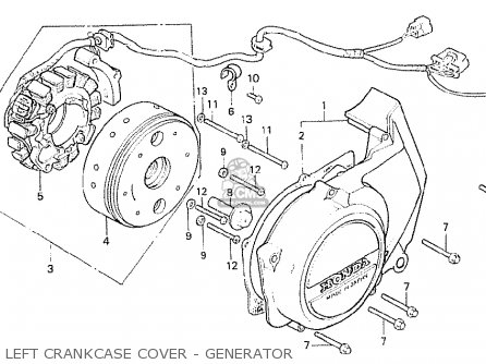 Honda Cb250n 1978 European Direct Sales parts list