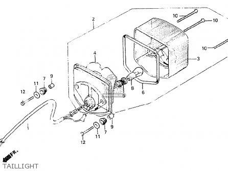 Honda Cb250n 1978 France parts list partsmanual partsfiche