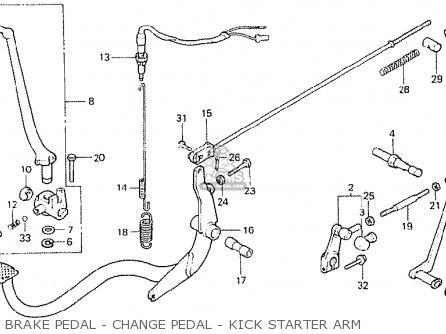 Honda CB250N 1978 GERMANY / FULL POWER TYPE 1 parts lists