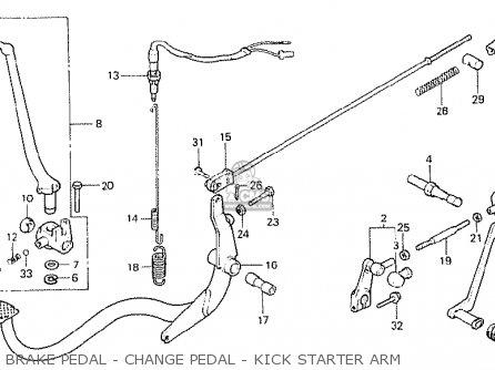 Honda Cb250n 1980 (a) Australia parts list partsmanual