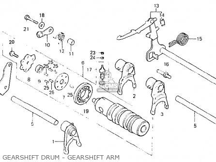 Honda CB250N 1980 (A) ENGLAND parts lists and schematics