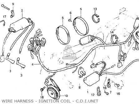 Honda CB250N 1980 (A) ENGLAND parts lists and schematics