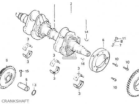Honda CB250N 1980 (A) GERMANY / FULL POWER TYPE 1 parts