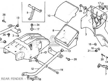 Honda CB250N 1984 (E) GREECE parts lists and schematics