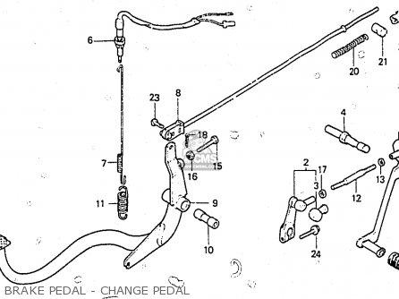 Honda Cb250ndc 1983 (d) Superdream England parts list