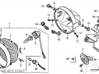 Honda CB250P 2006 (6) CHINA / WIN parts lists and schematics