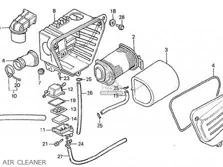Honda Cb250rs 1980 (a) Switzerland parts list partsmanual