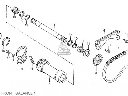 Honda CB250RSZ 1982 (C) ENGLAND parts lists and schematics