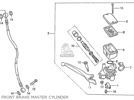 Honda CB250RSZ 1982 (C) ENGLAND parts lists and schematics