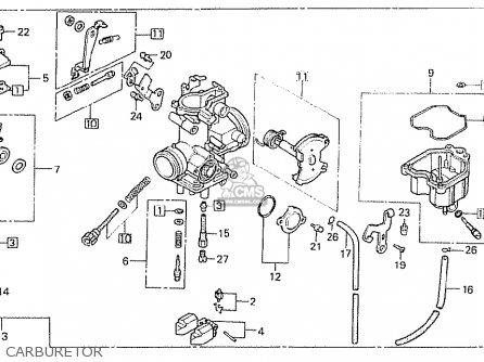 Honda Cb250rsz 1982 (c) European Direct Sale parts list