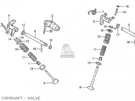 Honda Cb250rsz 1982 (c) Switzerland parts list partsmanual