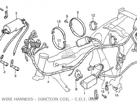 Honda Cb250t-1 1978 (general Export Kph) parts list