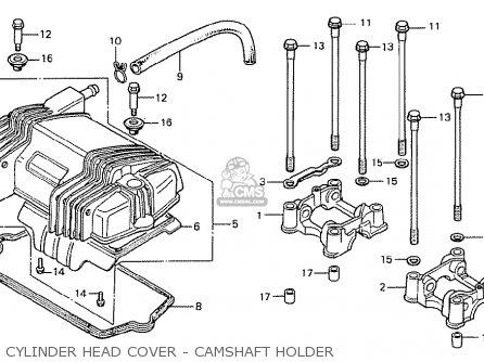 Honda Cb250ti 1978 General Export / Kph parts list
