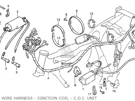 Honda CB250TII 1979 (Z) ENGLAND parts lists and schematics