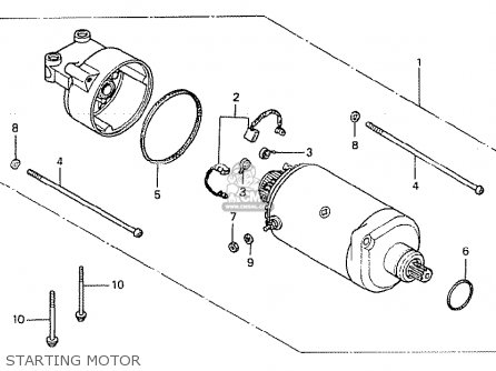 Honda Cb250tii 1979 (z) Germany parts list partsmanual