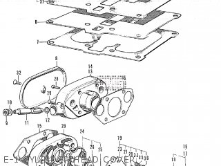 Honda CB350 GENERAL EXPORT parts lists and schematics
