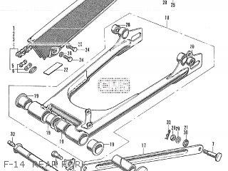 Honda CB350 GENERAL EXPORT parts lists and schematics