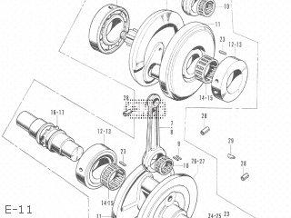 Honda CB350 JAPAN parts lists and schematics