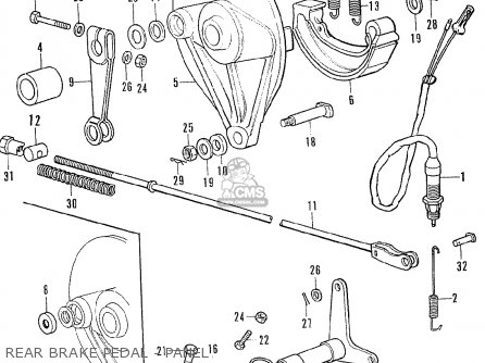 Honda Cb350f Four European Direct Sales parts list