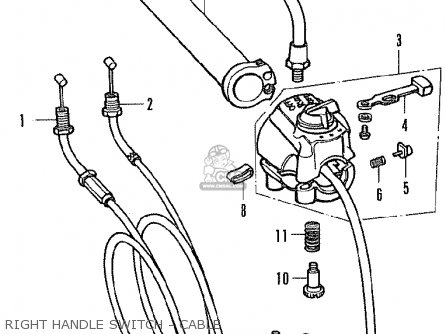 Honda Cb350f Four France parts list partsmanual partsfiche