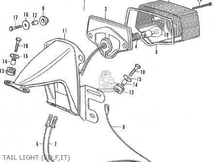 Honda CB350F FOUR FRANCE parts lists and schematics