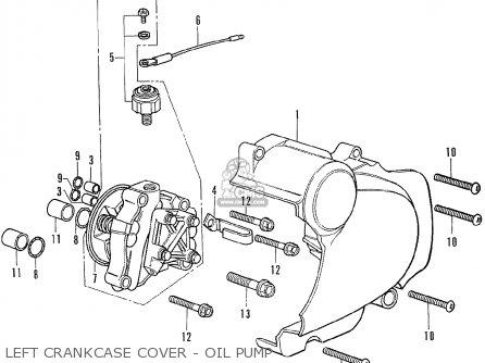Honda Cb350f Four Germany parts list partsmanual partsfiche