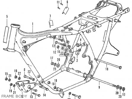 Honda CB350F FOUR ITALY parts lists and schematics