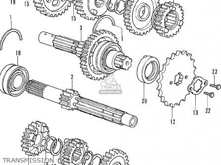 Honda Cb350f Four Italy parts list partsmanual partsfiche