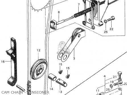 Honda Cb350k0 Super Sport Belgium parts list partsmanual