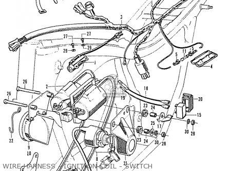 Honda CB350K2 SUPER SPORT GENERAL EXPORT parts lists and