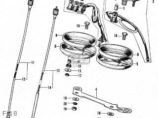 Honda CB350K3 JAPAN parts lists and schematics