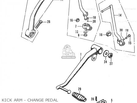 Honda CB350K4 EUROPEAN DIRECT SALES parts lists and schematics
