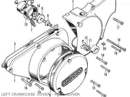 Honda Cb350k4 European Direct Sales parts list partsmanual
