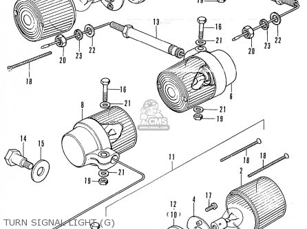 Honda CB350K4 GERMANY parts lists and schematics