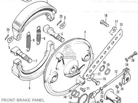 Honda CB350K4 SUPER SPORT 1972 USA parts lists and schematics