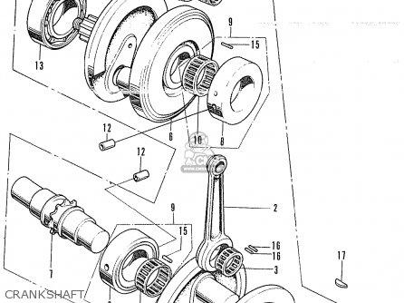 Honda CB350P4 POLICE TYPE GENERAL EXPORT / KPH MPH parts