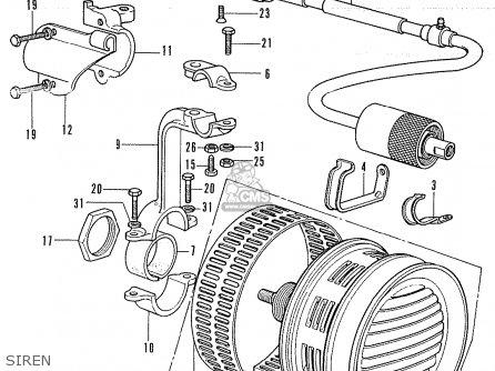 Honda Cb 350 Engine Honda XL 350 Wiring Diagram ~ Odicis