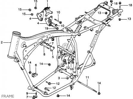 Honda Cb360 Sport 1974 Usa parts list partsmanual partsfiche