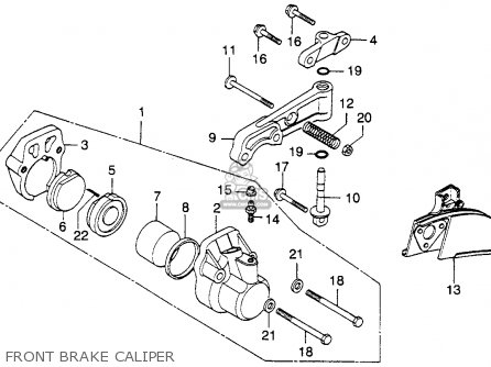 Honda Cb360 Engine Honda SL125 Engine Wiring Diagram ~ Odicis