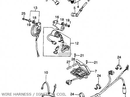 Honda Cb360 1974 Usa parts list partsmanual partsfiche