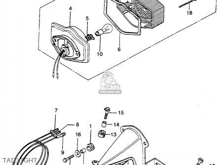 Honda CB360G 1974 USA parts lists and schematics