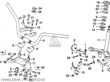 Honda Cb360t 1976 Usa parts list partsmanual partsfiche