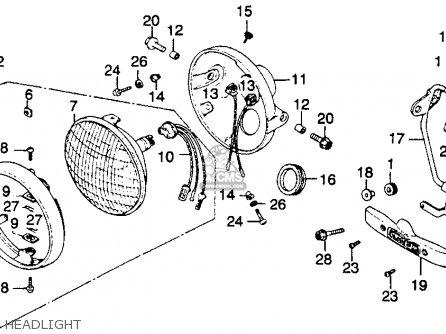 Honda Ascot Ft500 Wiring Diagram Honda Gl500 Wiring