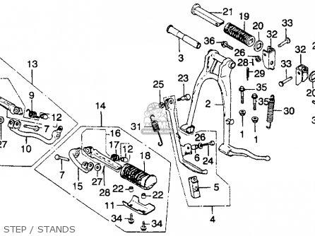 Honda CB360T 1976 USA parts lists and schematics