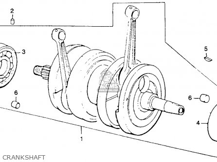 Honda Cb360t K0 1975 Usa parts list partsmanual partsfiche
