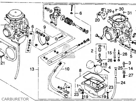 Honda Cb360tk0 1975 Usa parts list partsmanual partsfiche