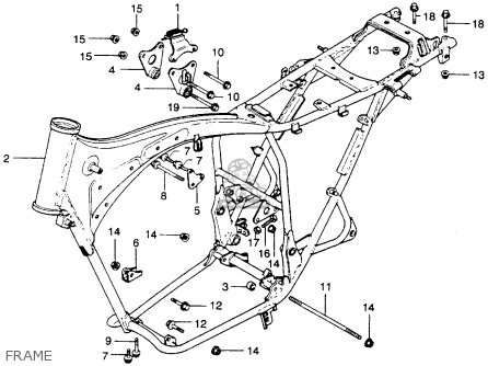 Honda CB360TK0 1975 USA parts lists and schematics