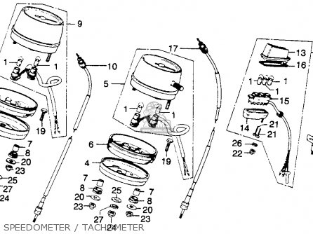 Honda CB360TK0 1975 USA parts lists and schematics